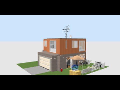 sweet home 3d visita virtual a una casa youtube. Black Bedroom Furniture Sets. Home Design Ideas