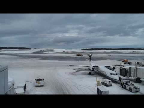 Time Lapse at Ted Stevens Anchorage International Airport