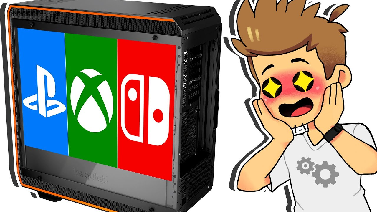Comment CRÉER la Console ULTIME ? (PS4 + Xbox One + Nintendo Switch)