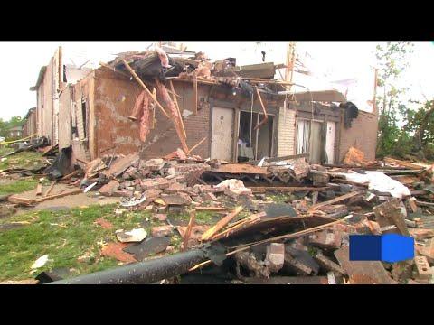 'Violent' EF-3 tornado strikes Jefferson City leaving extensive damage behind
