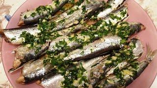 Средиземноморская диета. САРДИНЫ в духовке.