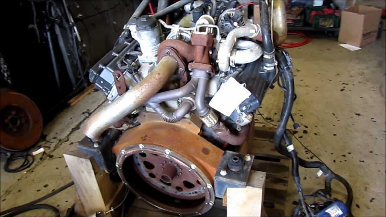 2005 International Vt275 Diesel Engine Youtube