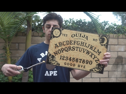NEVER MESSING WITH THE OUIJA BOARD AGAIN!!...