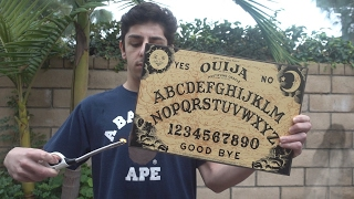 NEVER MESSING WITH THE OUIJA BOARD AGAIN!! (WTF WAS THAT) | FaZe Rug