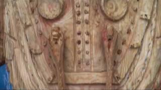 恐縮ですが 「バイオショック2」の「ビッグダディ」を彫りました。 潜...