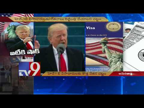 Trump H1B shock to Indian IT companies - TV9