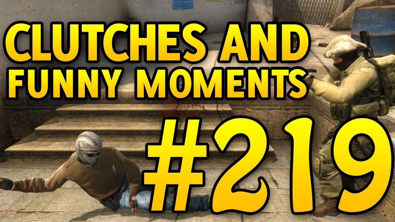 CSGO Funny Moments and Clutches #219 - CAFM CS GO | Racer lt