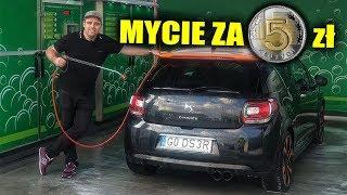 Czy można umyć samochód na myjni za 5 zł?