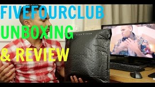 fivefourclub unboxing product service review