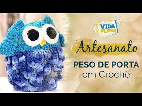 Artesanato | Peso de Porta em Crochê