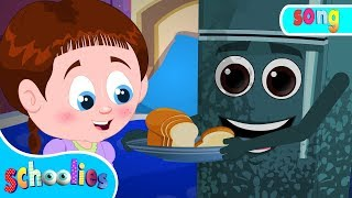 Haunted Fridge | Nursery Rhymes For Children Cartoon For Kids |  Schoolies