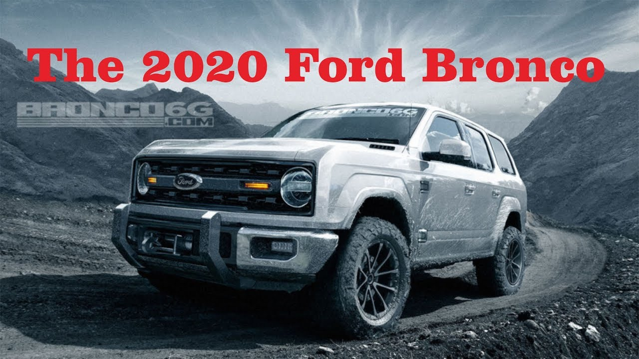 2017 Toyota 4Runner >> The 2020 Ford Bronco should be a lot like the 2017 Toyota 4Runner - Techno R - YouTube