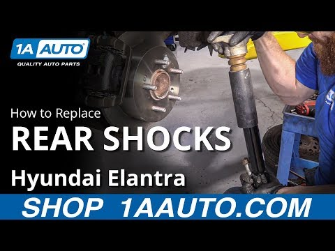 How to Replace Rear Shocks 07-10 Hyundai Elantra
