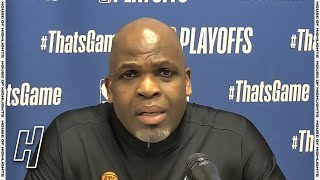 Nate McMillan Postgame Interview - Game 7 - Hawks vs 76ers | 2021 NBA Playoffs