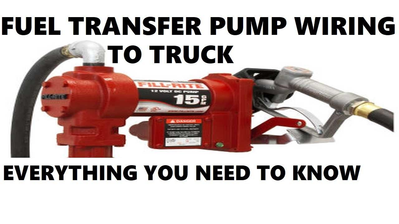 Fuel Transfer Pump Wiring