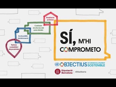 Infografia ODS i la Diputació de Barcelona