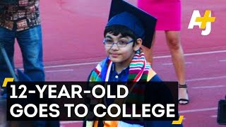 12-Year-Old Gets Accepted To 2 California Universities 2017 Video
