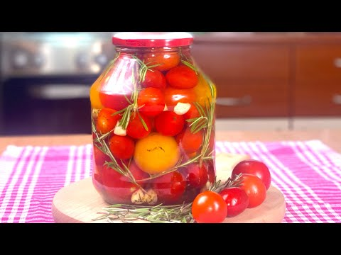 Aromatični čeri paradajz - za zimu