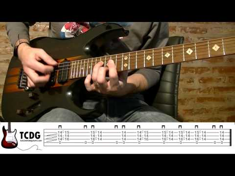 Como tocar We Will Rock You en guitarra eléctrica (Queen) TCDG