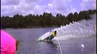 80's Water ski slalom set