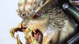 Alien VS Predator Hot Toys Samurai Predator Artist Collection 1/6 Scale Collectible Figure Review
