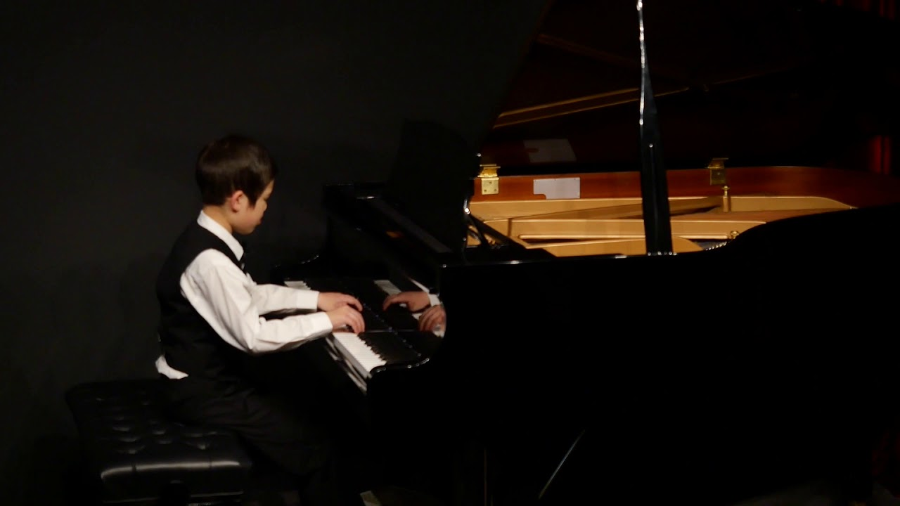 Amazing performance - 8yro Isaiah played Nocturne (8th grade) at our 3rd mini live concert on 11/7