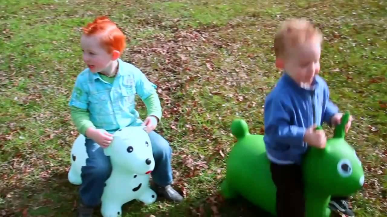 Ослик - прыгун Joy Toy - YouTube