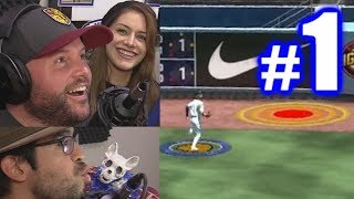 PLAYING JEFF AND ALY! | MLB The Show 19 | Retro Mode #1