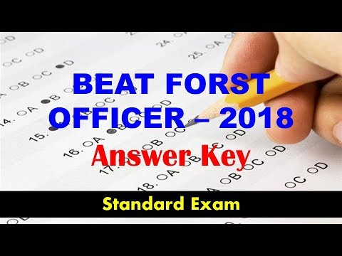 Beat Forest Officer 2018 Questions Answers Key Gurukulam Online PSC Coaching Classes