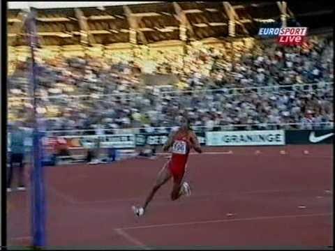 Germaine Mason vs Stefan Holm 2.32 - Stockholm 2003.mpg