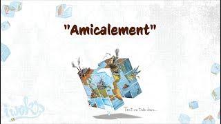 "✍ I Woks - Amicalement - Album ""Tout va très bien..."" - (Lyrics vidéo)"