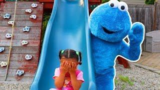 Peek a Boo Song   Leah Play's Time Nursery Rhymes & Kids Songs #3