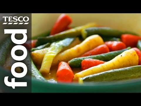 How to Braise Vegetables | Tesco Food