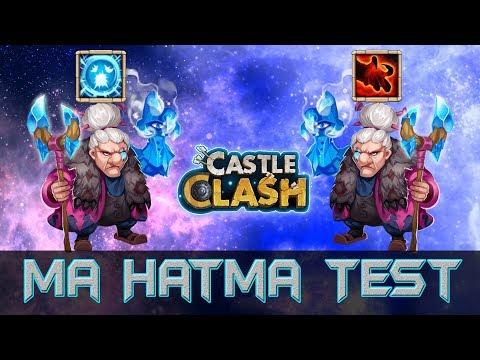 Ma Hatma Test - Scatter Vs Berserk   Castle Clash