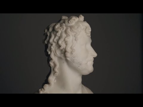 A Canova Bust of Joachim Murat, King of Naples