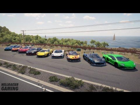 Forza Horizon Hypercar Car Show Tunnel Drags Airport