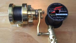 Saltwater Jigging Big Game Fishing Reel Capacity Test