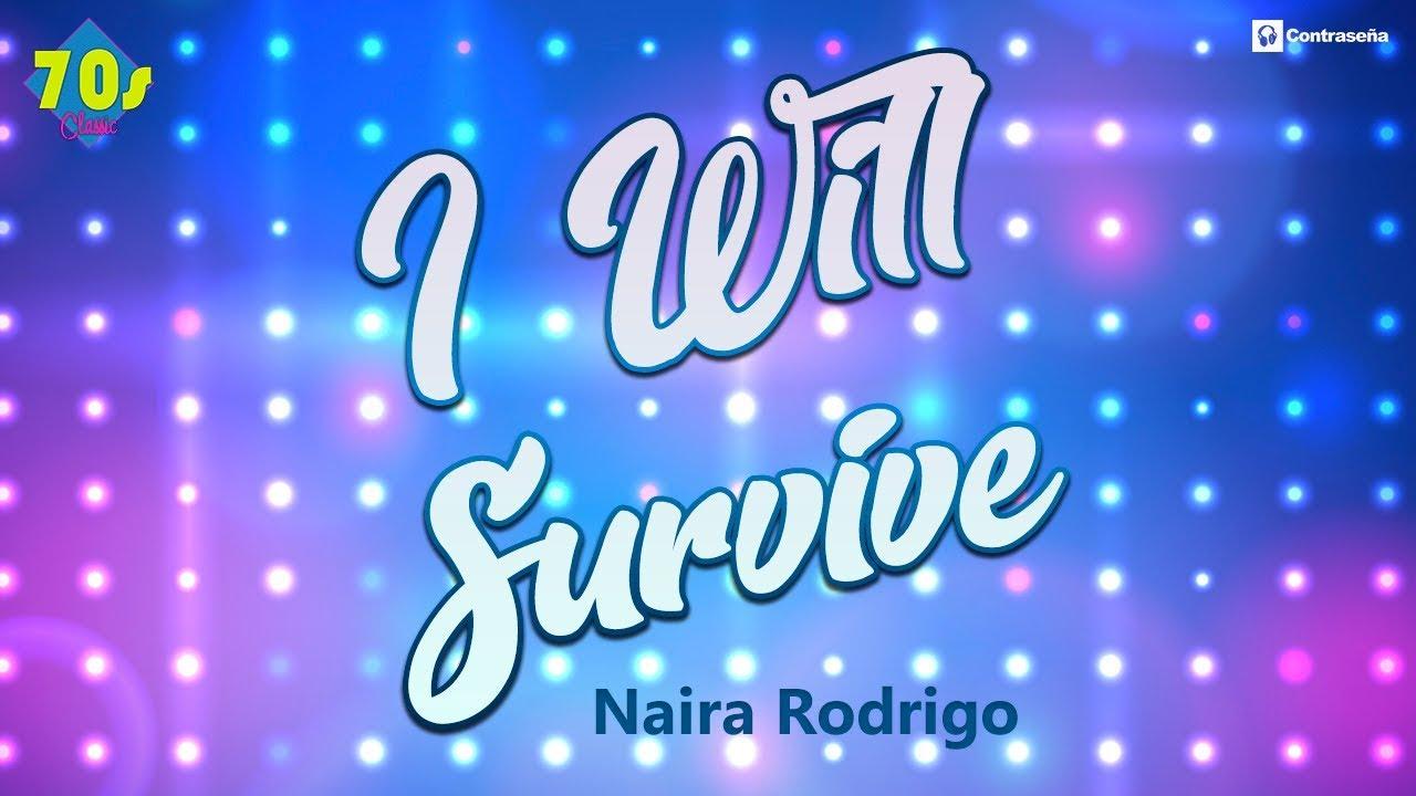 I Will Survive Musica Disco 70s Karaoke Backing Party Mix Disco Fever Sobrevivire Naira Rodrigo Youtube