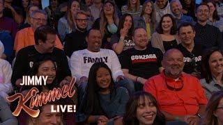 """Gonzaga"" Officials Visit Kimmel"