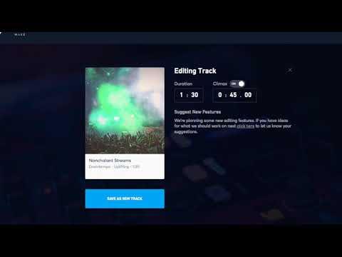 Jukedeck   music composition AI demo