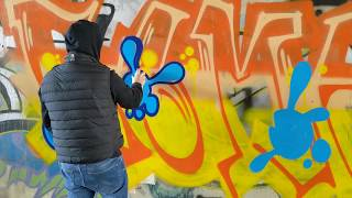 GRAFFITI PIECE FREESTYLE! ----- WATCH NOW!!!