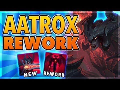 *PC GIVEAWAY WINNER ANNOUCED* AATROX REWORK (NEW ABILITIES) - BunnyFuFuu