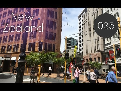 NZ[035] An Another Walking Wellington City 2016/12/19
