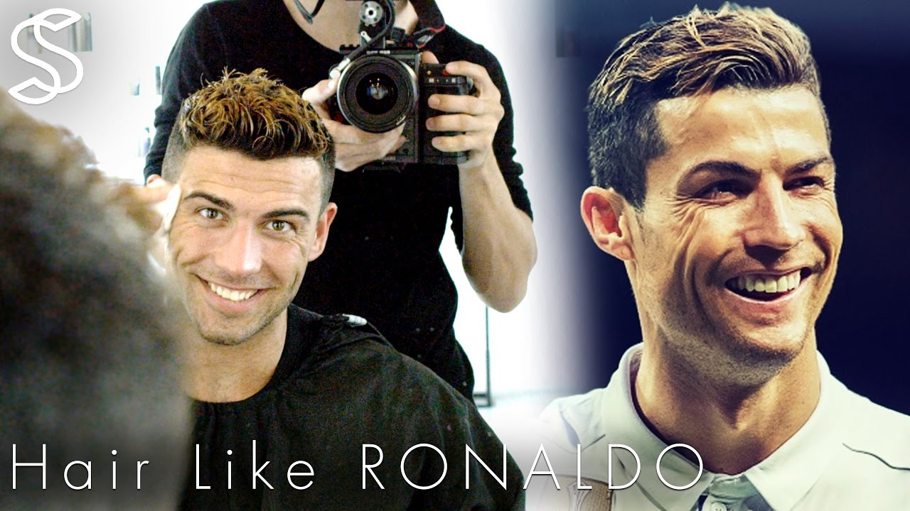 Cristiano Ronaldo Hairstyle 2017 Short Summer Haircut With Color