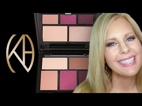 kevyn aucoin eyeshadow palette the bloodroses swatches review
