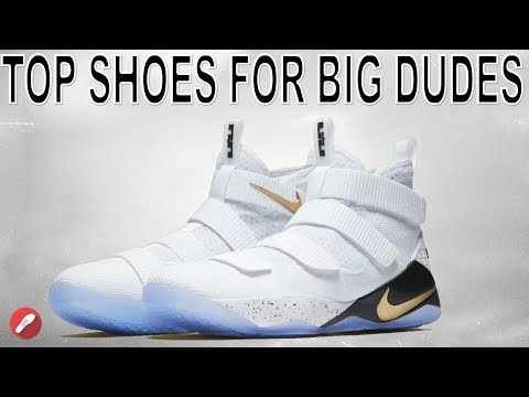 Top 5 Basketball Shoes For Big Dudes!
