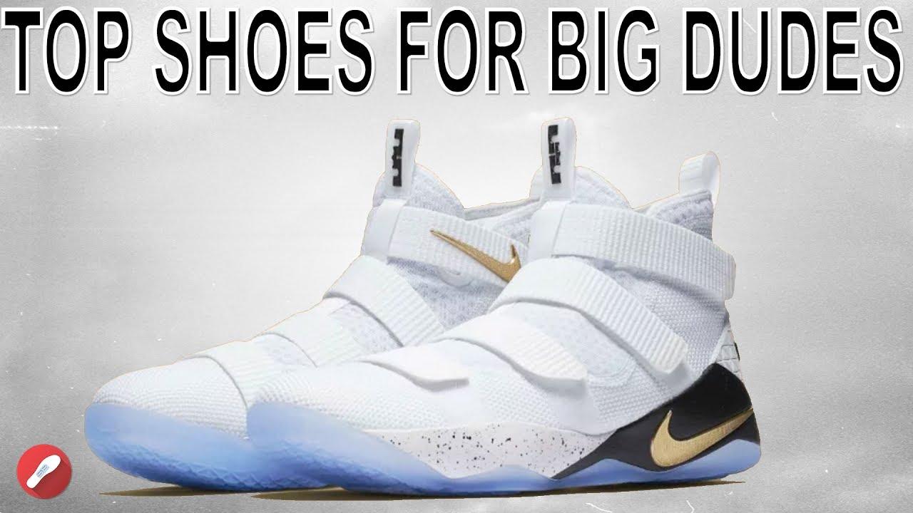 5ed5a166e5b Top 5 Basketball Shoes For Big Dudes! - YouTube
