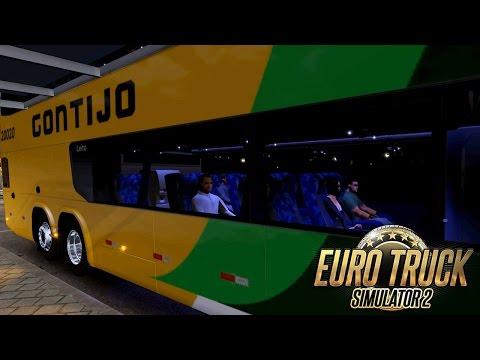 Euro Truck Simulator 2 - Mod Bus | Gontijo - Belo Horizonte/Três Lagoas - G27