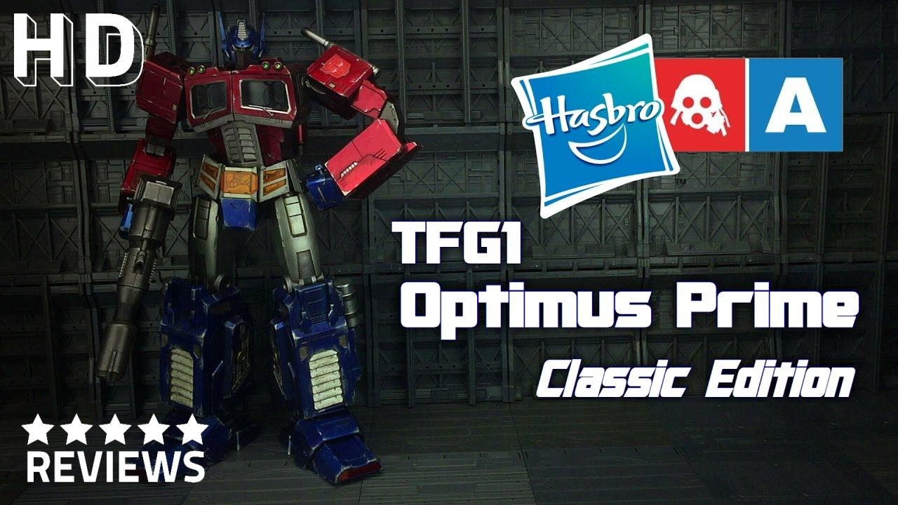 osw.zone Benscollectables enthusiastic look at G1 Optimus Prime!Preorders close April...