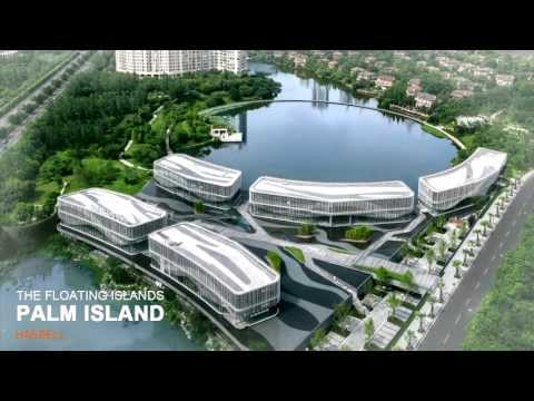 The Floating Islands - Palm Island by HASSELL